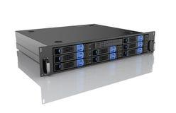Unidad del servidor del ordenador stock de ilustración
