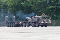 Unidad del tractor de SLT 50 Elefant y transportador del tanque resistentes alemanes Foto de archivo