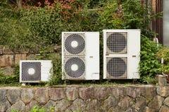 Unidad exterior del acondicionador de aire imagen de archivo