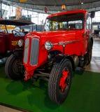 Unidad Huerlimann D800 Industrie, 1968 del tractor Fotos de archivo libres de regalías