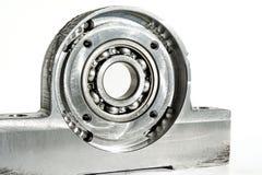Unidad montada del rodamiento de rodillos Torno del CNC e indu de la perforación que muelen Fotografía de archivo libre de regalías