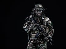 Unidade da guerra da selva Fotos de Stock Royalty Free