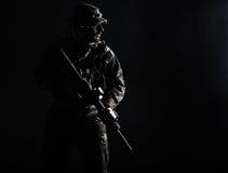 Unidade da guerra da selva Fotos de Stock