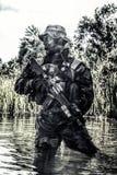 Unidade da guerra da selva Foto de Stock