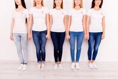 Unidade das mulheres, conexão, oneness, confiança, amor, ajuda, apoio, Br Imagem de Stock Royalty Free