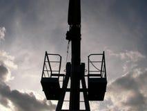 Unidade de bombeamento do óleo Fotos de Stock