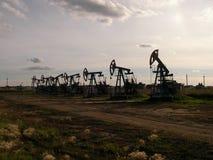 Unidade de bombeamento do óleo Imagem de Stock Royalty Free
