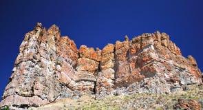 A unidade de Clarno no parque nacional pintado dos montes Imagens de Stock Royalty Free