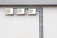 Unidade de condensação do ar Imagem de Stock