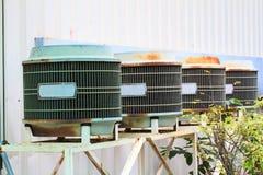 Unidade de condensação velha Fotografia de Stock