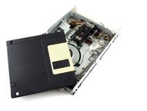 Unidade de disco e de disco flexível Imagens de Stock