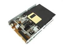 Unidade de disco e de disco flexível Imagem de Stock Royalty Free