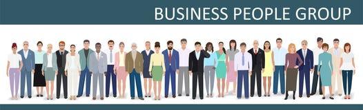 Unidade de negócio, ilustração do vetor Imagens de Stock