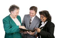 Unidade de negócio diversa - boa Fotos de Stock Royalty Free