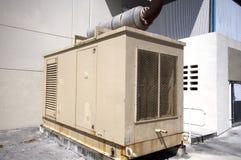 Unidade de Stanby do gerador do diesel foto de stock