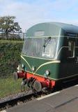 Unidade diesel do trem do Railcar foto de stock royalty free