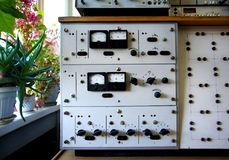Unidade do analogue do vintage Fotos de Stock