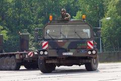 Unidade do trator de SLT 50 Elefant e transportador de tanque resistentes alemães Fotografia de Stock Royalty Free