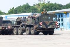 Unidade do trator de SLT 50 Elefant e transportador de tanque resistentes alemães Imagem de Stock