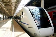 Unidade do trem do motor Fotografia de Stock