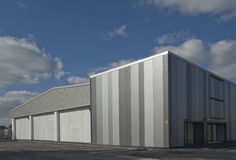Arquitetura industrial Imagens de Stock Royalty Free