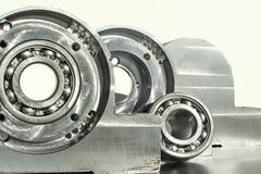 Unidade montada do rolamento de rolo. Engenharia mecânica. Imagens de Stock
