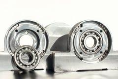 Unidade montada do rolamento de rolo Engenharia mecânica Fotos de Stock Royalty Free