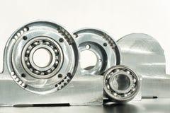 Unidade montada do rolamento de rolo Engenharia mecânica Imagem de Stock Royalty Free