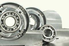Unidade montada do rolamento de rolo Engenharia mecânica Fotografia de Stock