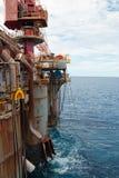 Unidade Semi-Submersible da perfuração Fotografia de Stock Royalty Free
