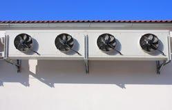 Unidades al aire libre de acondicionador de aire Fotografía de archivo