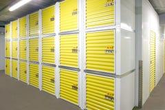 Unidades de almacenamiento del uno mismo fotografía de archivo libre de regalías