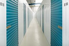 Unidades de almacenamiento del uno mismo Foto de archivo libre de regalías