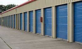 Unidades de armazenamento litorais Fotografia de Stock