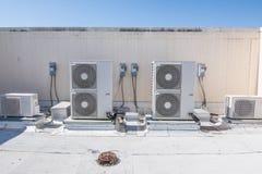 Unidades de la HVAC Fotos de archivo libres de regalías