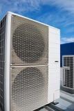 Unidades do condicionador de ar Foto de Stock