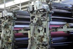 Unidades do rolo da tinta imagem de stock