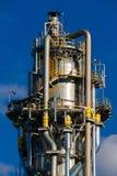 Unidades para la producción de ácido nítrico en la planta del fertilizante imagenes de archivo