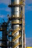 Unidades para la producción de ácido nítrico en la planta del fertilizante fotos de archivo