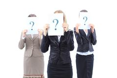 Unidentifiable business women Royalty Free Stock Image