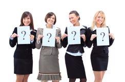 Unidentifiable business women Stock Photo