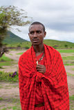 An unidentified African man poses for a portrait Royalty Free Stock Photos