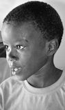Unidentified child living in Mondesa slum Stock Photo