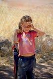 Unidentified child Stock Photos