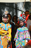 Unidentified children participating a the Chinese Culture Week Stock Photo