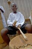 Unidentified children in township school near Kampala. Royalty Free Stock Photos