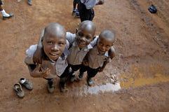 Unidentified children, Uganda Africa Stock Photography