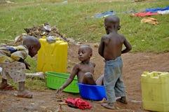 Unidentified children, Uganda Africa Stock Photo