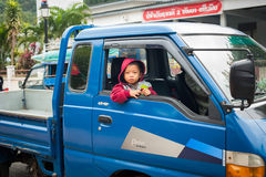 Unidentified cute asian boy. Laos Royalty Free Stock Images