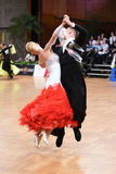 An unidentified dance couple in a dance pose during Grand Slam Standart at German Open Championship Stock Images